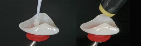 12. Applicazione del silano e successivo soffio d'aria delicato.