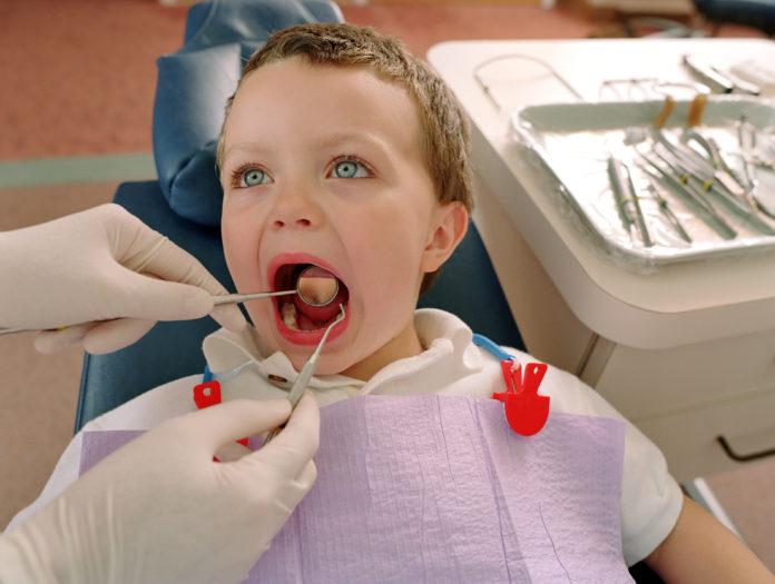 carie nei bambini dentista