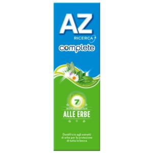Dentifricio AZ Complete Alle Erbe