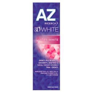 Dentifricio AZ 3D White Ultra White