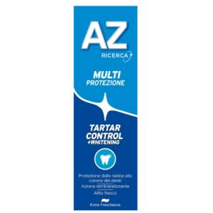 Dentifricio AZ MultiProtezione Tartar Control + Whitening