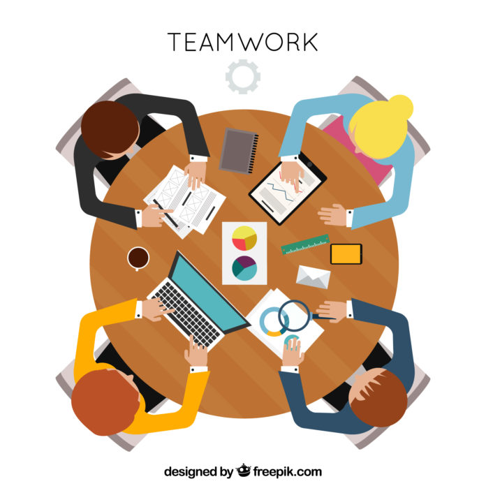 DM_il dentista moderno_tavola rotonda_lavoro di squadra_team