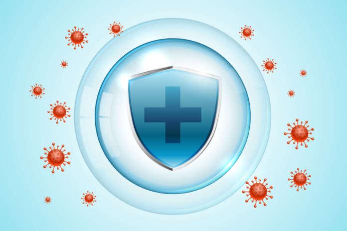 DM_il-dentista-moderno_sspese-di-anificazione_coronavirus covid-19 protection shield for medical purpose